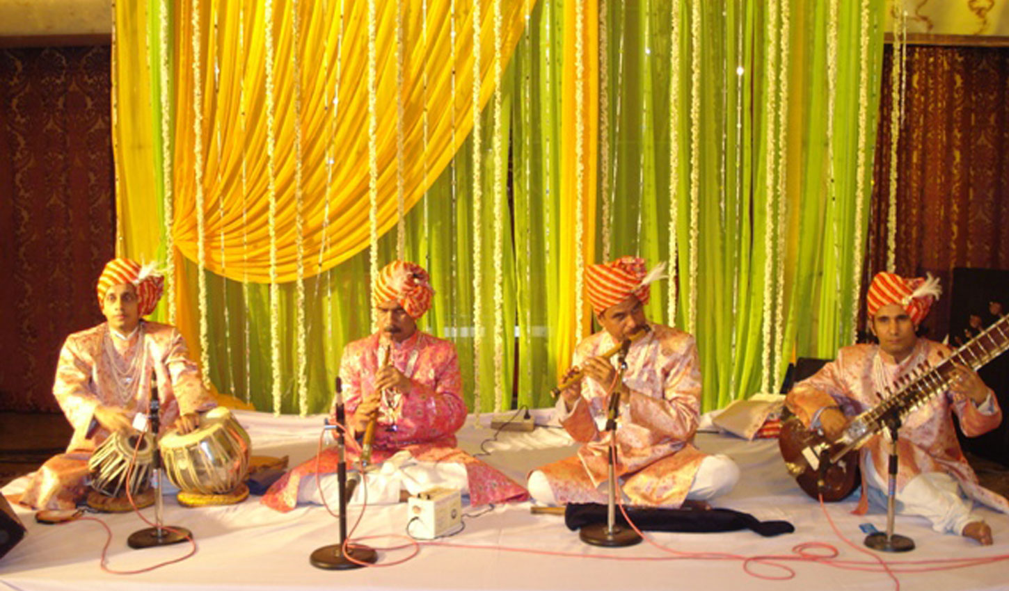 Jagdish Prakash & Sons  Shehnai Players India